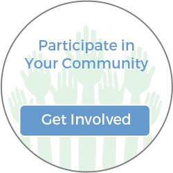 Get Involved - Participate in your community icon